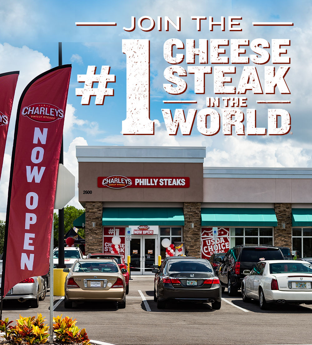 Join the #1 Cheesesteak in the World